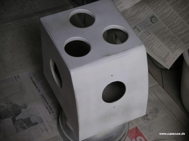 Regal Hochglanz Lackieren : Mein Holz Tower oder der verschollene Casecon  Selbstgebautes  Aqua